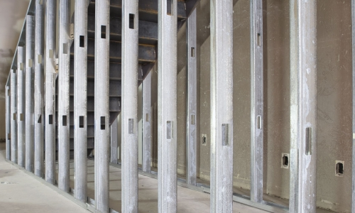 Restructure Wall Frames with Strong Structural Steel